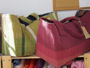 裂き織り製品 (田野畑村・ハックの家)